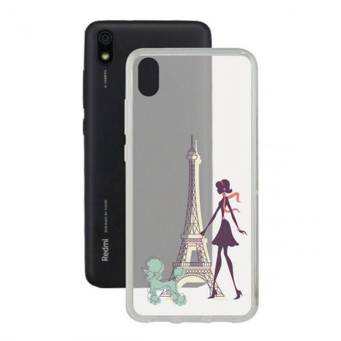 Capa para Telemóvel Xiaomi Redmi 7a Contact Flex France TPU