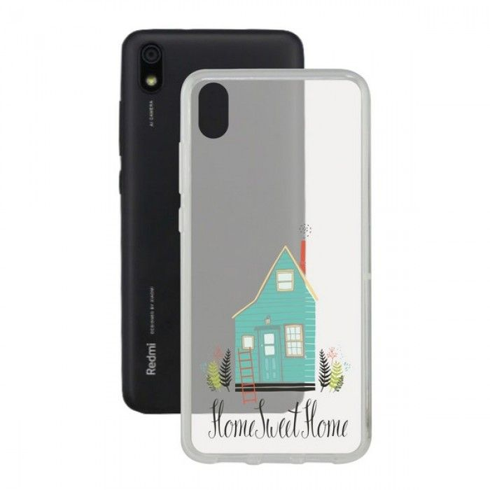 Funda para Móvil Xiaomi Redmi 7a Contact Flex Home TPU