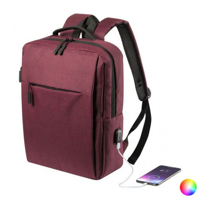 Rucksack for Laptop and Tablet with USB Output 146473