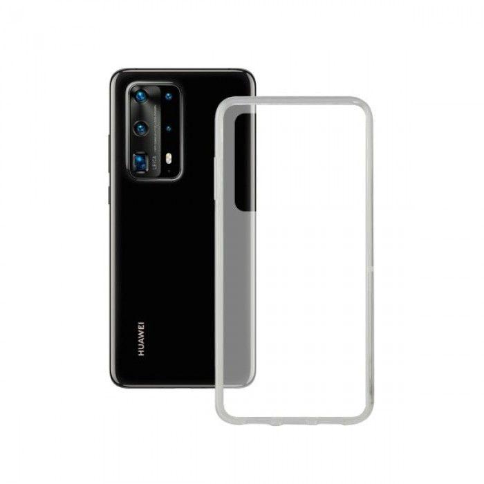 Funda para Móvil con Borde de TPU Huawei P40 Contact Flex Transparente