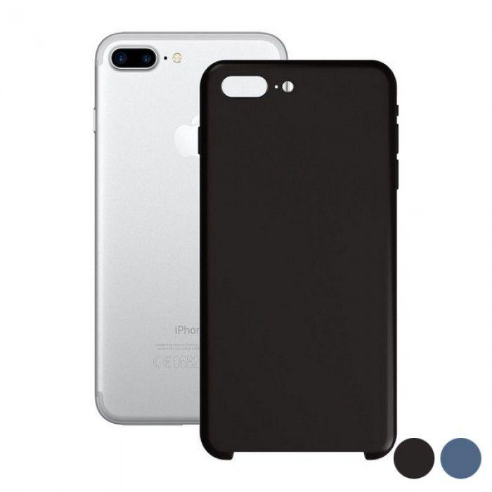 Capa para Telemóvel Iphone 7+/8+ KSIX Soft Silicone