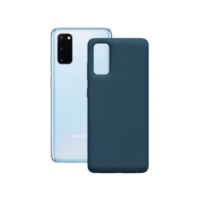 Capa para Telemóvel Samsung Galaxy S20+ KSIX Eco-Friendly Azul