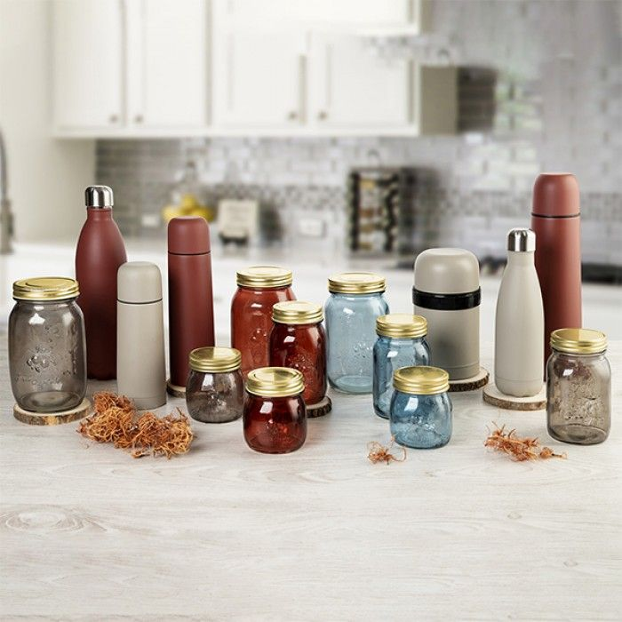 Travel thermos flask Quid Arizona Burgundy Stainless steel 0,5 L