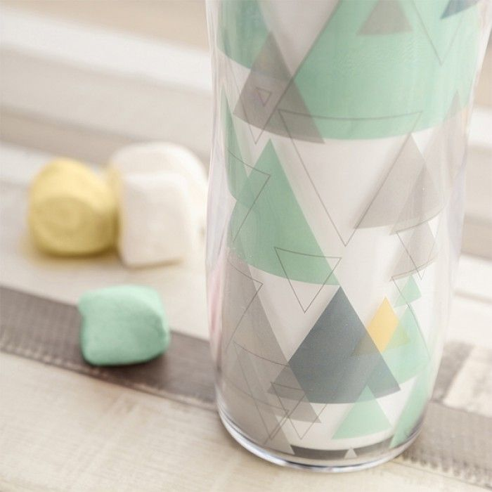 Travel thermos flask Quid Mint Plastic 0,45 L