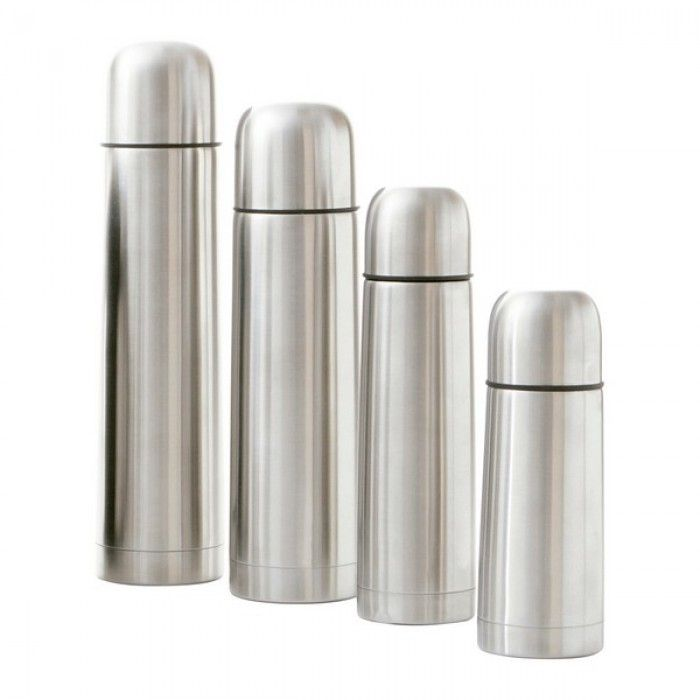 Travel thermos flask Quid Stainless steel 0,5 L