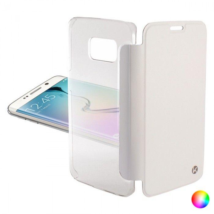Folio Mobile Phone Case Samsung Galaxy S6 Edge KSIX Crystal