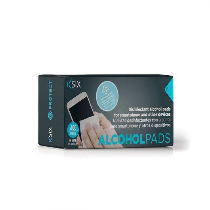 Toallitas Desinfectantes para Dispositivos Electrónicos KSIX (100 uds)