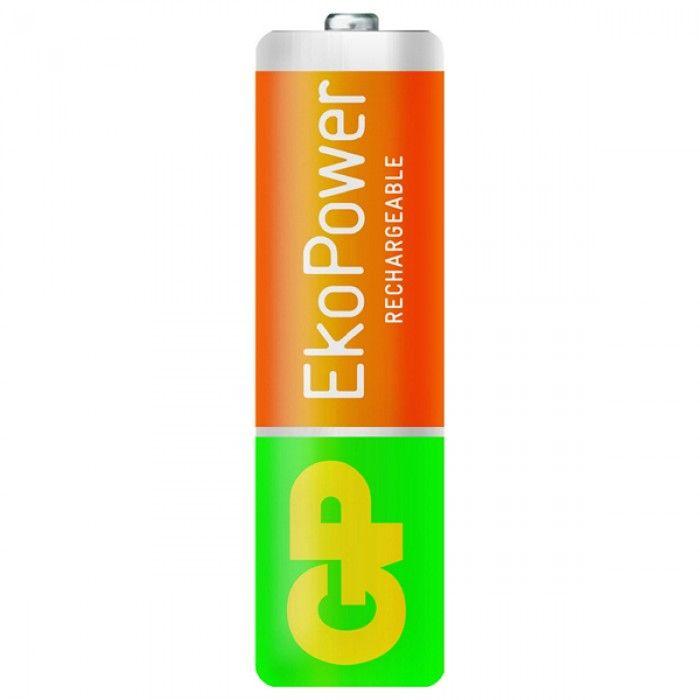 Rechargeable Batteries GP 125AAHCEPC4 1, 2 V 1300 mAh AA (4 pcs) Green Orange