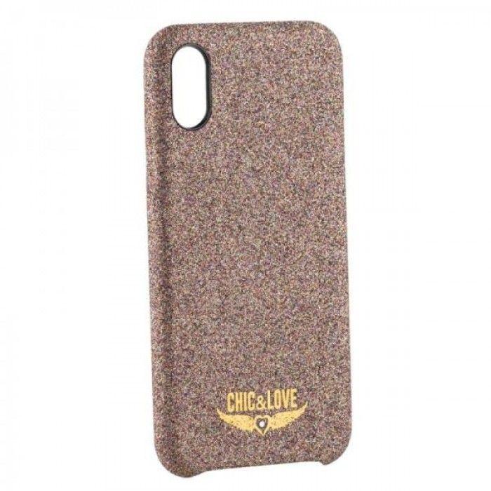 Capa Iphone X-xs Chic & Love CHCAR005 Purpurina Cobre