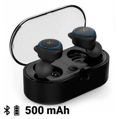 Auriculares sem fios KSIX Go & Play Unlimited Bluetooth Preto