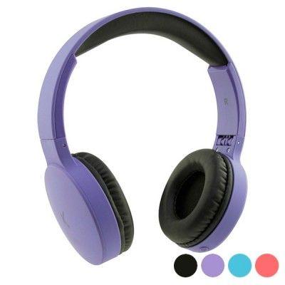 Auriculares de Diadema Dobráveis com Bluetooth KSIX Go & Play Travel