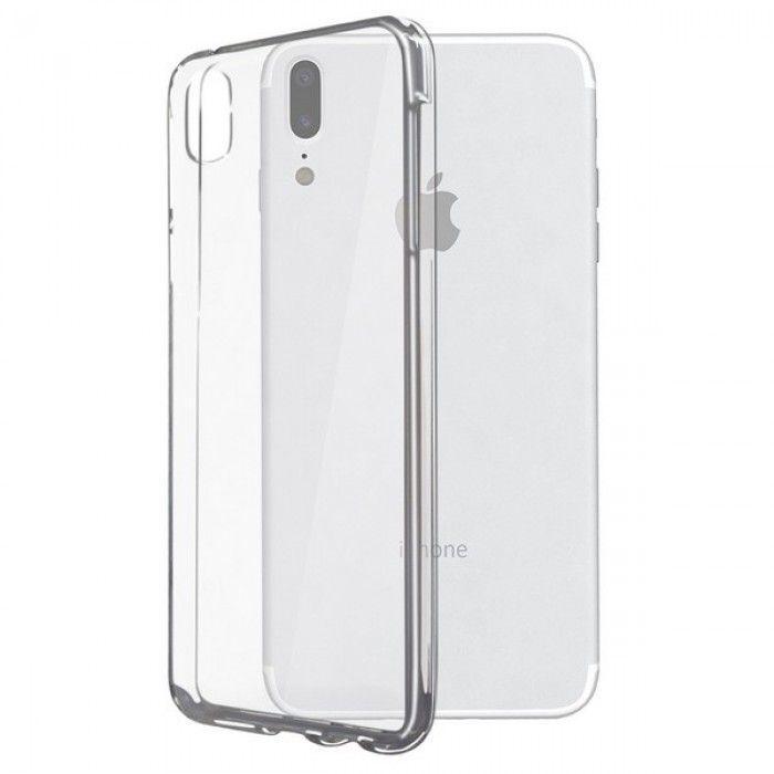 Capa para Telemóvel Iphone X KSIX Flex Transparente