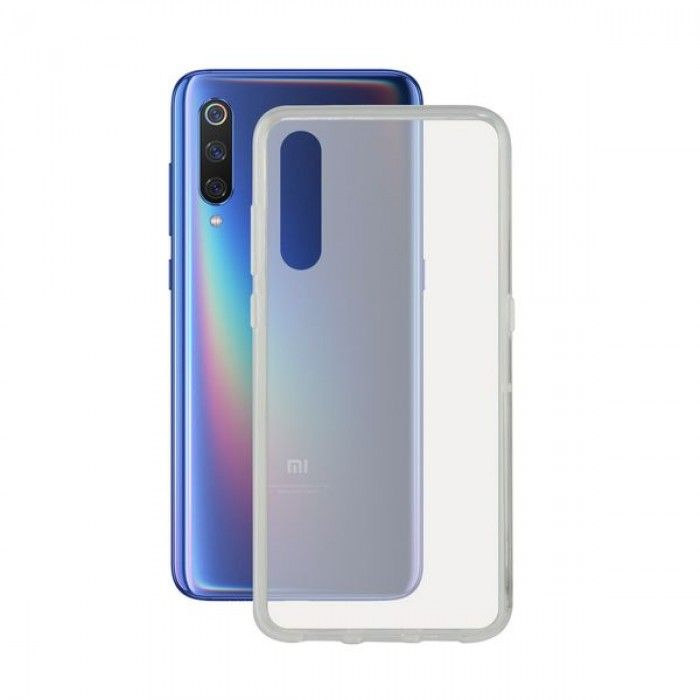 Mobile cover Xiaomi Mi 9 KSIX Flex TPU Transparent