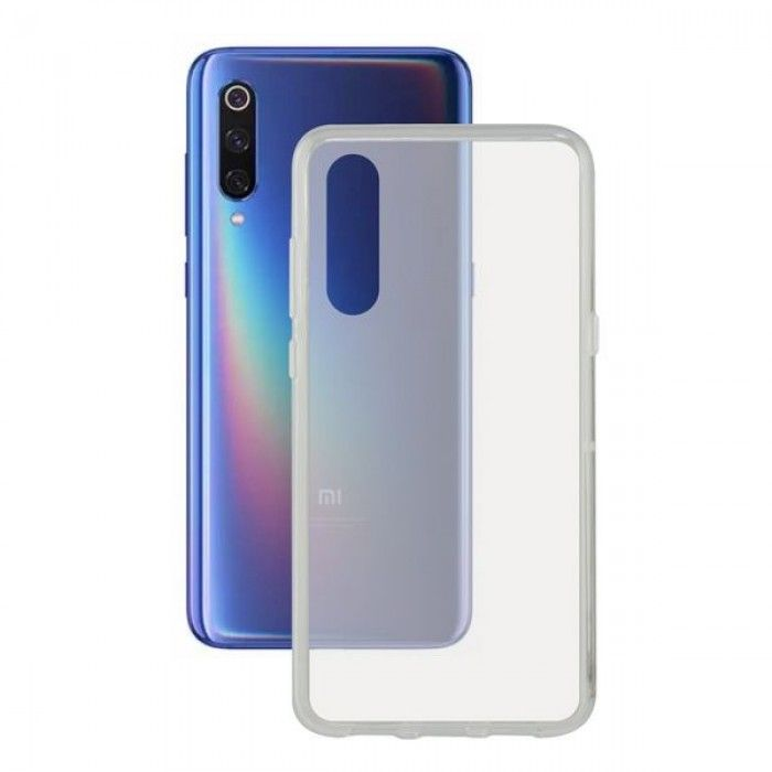Mobile cover Xiaomi Mi 9 Se KSIX Flex TPU Transparent