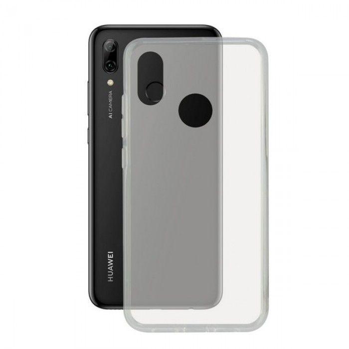 Mobile cover Huawei P Smart Plus 2019 KSIX Flex TPU Transparent