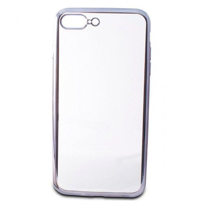 Capa para Telemóvel Iphone 7 Plus/8 Plus KSIX Flex Metal TPU Flexível