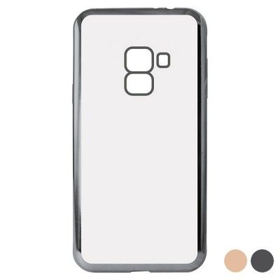 Capa para Telemóvel Galaxy A8 2018 Flex Metal
