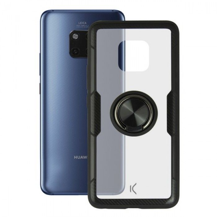 Housing with ring Huawei Mate 20 Pro KSIX Transparent