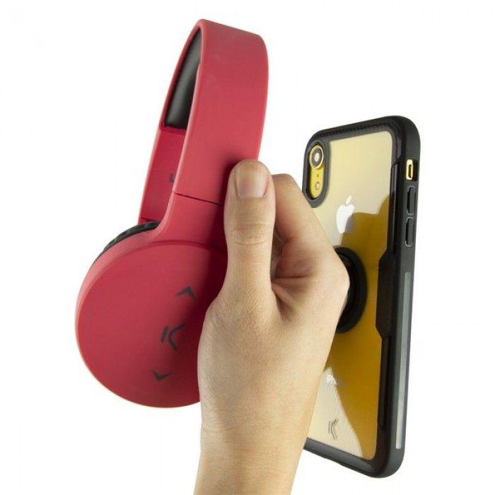Capa com Anel Iphone Xr KSIX Transparente