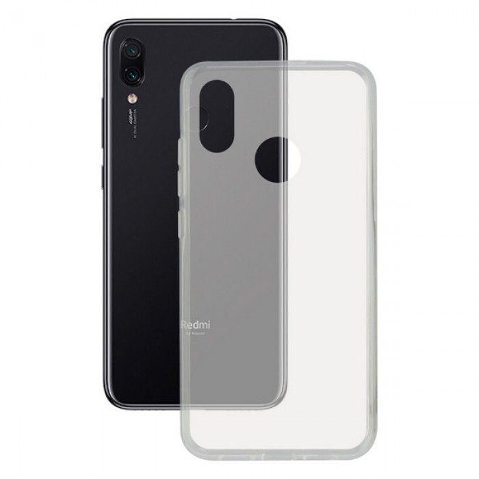 Mobile cover Xiaomi Redmi 7 KSIX Flex Transparent