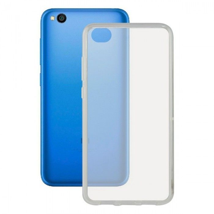 Mobile cover Redmi Go KSIX Flex Transparent