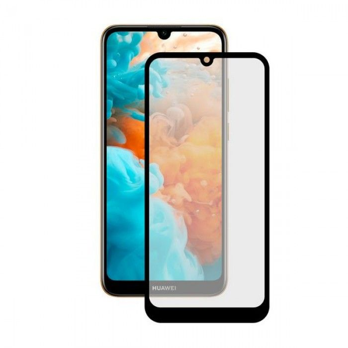 Tempered Glass Mobile Screen Protector Huawei Y6 2019 KSIX Extreme 2.5D Black