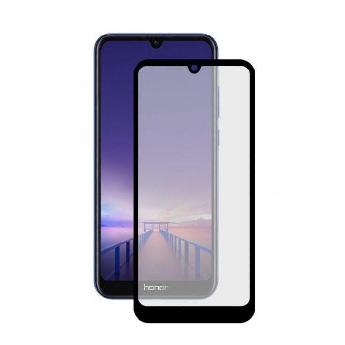 Protetor de vidro temperado para o telemóvel Honor 8a KSIX Extreme 2.5D Preto