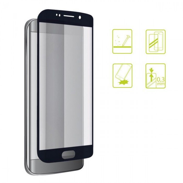 Tempered Glass Mobile Screen Protector Galaxy A8 2018 Extreme 2.5D Black