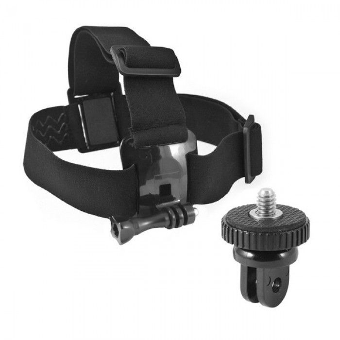 Head Harness for Sports Camera KSIX Black