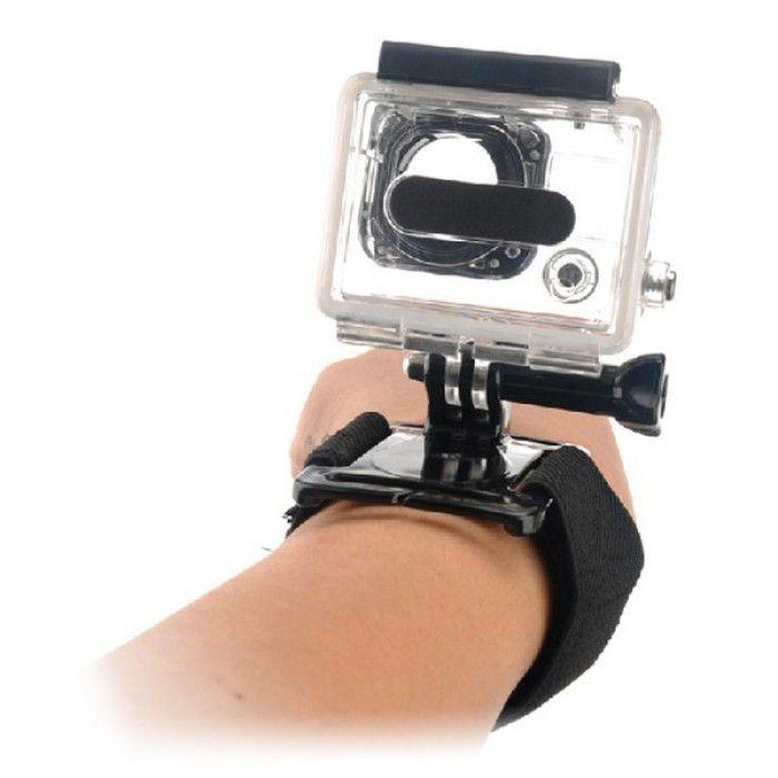 Wrist Harness for Sports Camera KSIX Black