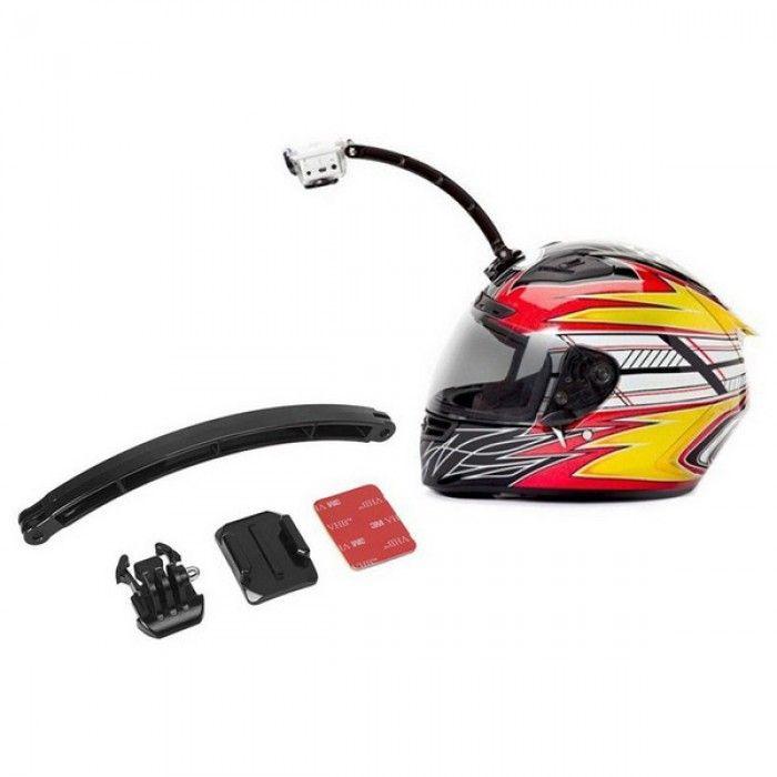 Sports Camera Selfie Support for Helmet KSIX Black