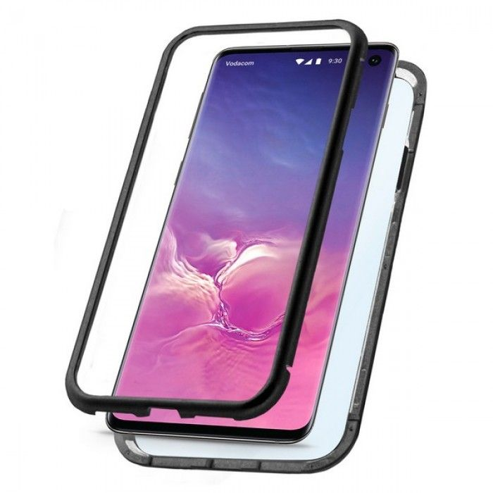 Mobile cover Samsung Galaxy S10 KSIX Black
