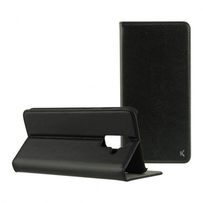 Folio Mobile Phone Case Galaxy J6 Plus 2018 Slim Black