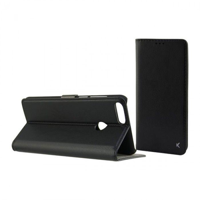 Capa tipo Livro para o Telemóvel Xiaomi Mi 8 Lite KSIX Preto