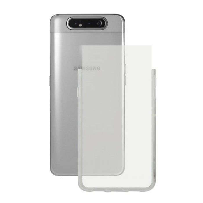 Mobile cover Samsung Galaxy A90 KSIX Transparent