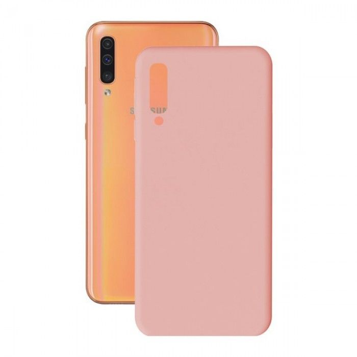 Mobile cover Samsung Galaxy A30/a50 KSIX Soft Cover TPU Pink