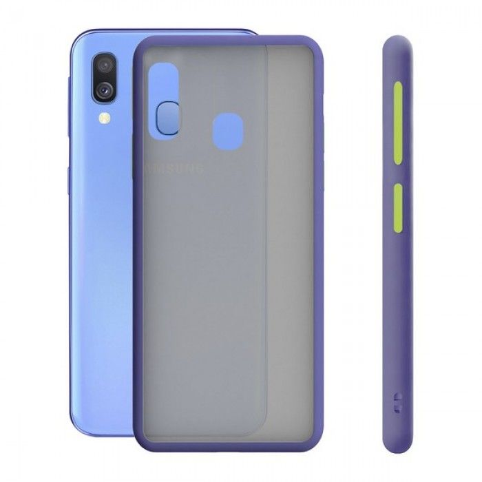 Mobile cover Samsung Galaxy A40 KSIX Duo Soft