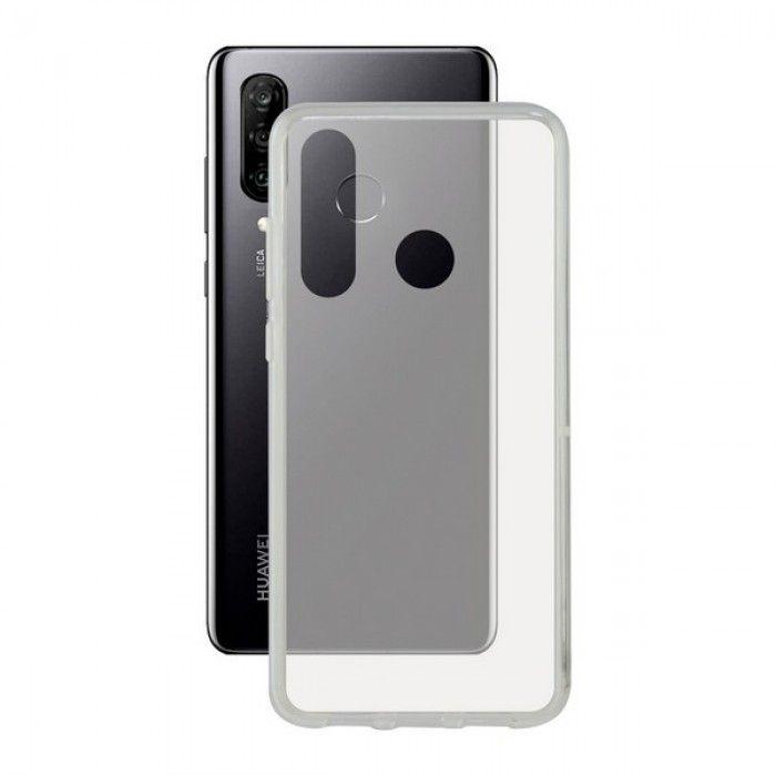 Mobile cover Huawei P30 Lite KSIX Flex TPU Transparent