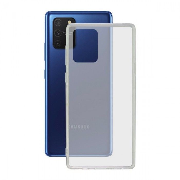 Mobile cover Samsung Galaxy A91/s10 Lite KSIX Flex TPU Transparent