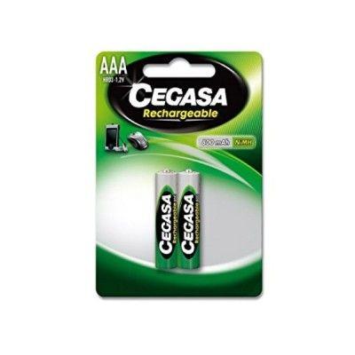 Rechargeable Batteries Cegasa HR03 800 mAh (2 uds)