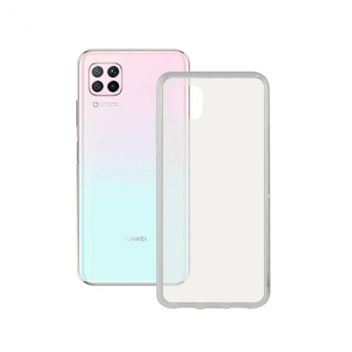 Mobile Phone Case with TPU Edge Huawei P40 Lite KSIX Flex Transparent