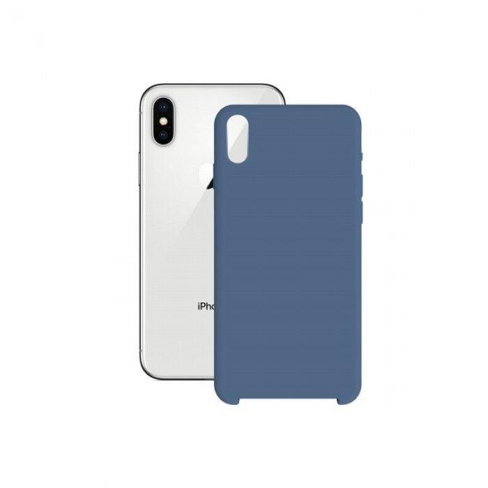 Capa para Telemóvel Iphone X/xs KSIX Soft Azul