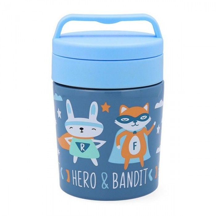 Recipiente Térmico para Alimentos Quid Go Hero Aço inoxidável 0,35 L