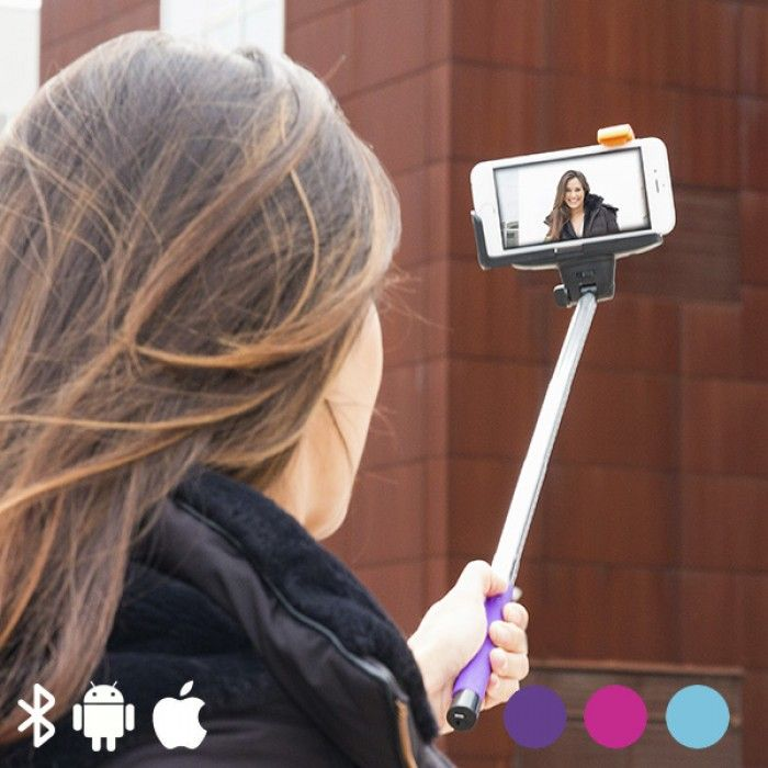 Bluetooth Selfie Stick for Mobile Phones