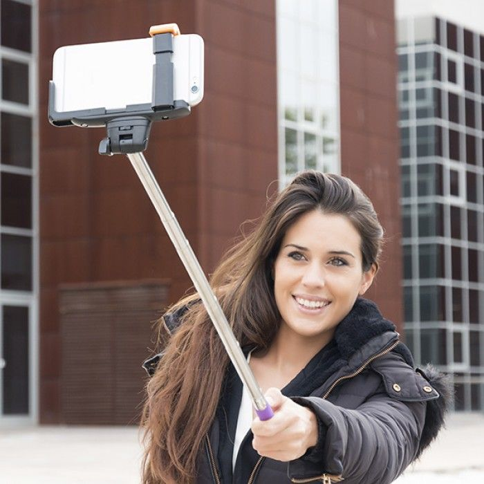 Bluetooth Selfie Stick for Mobile Phones