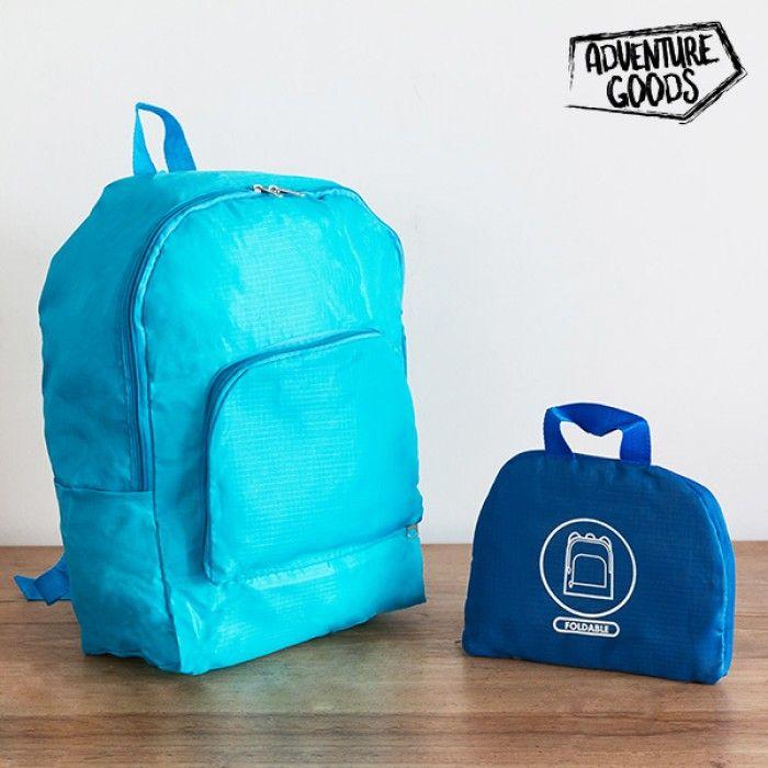 World Adventure Goods Folding Backpack