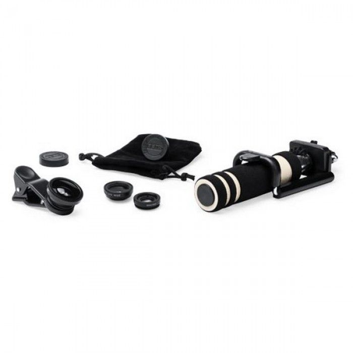 Set of Selfie Stick with Lenses (5 pcs) 144940