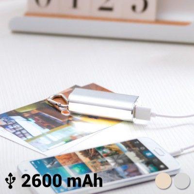 Power Bank com Mosquetão 2600 mAh 144943