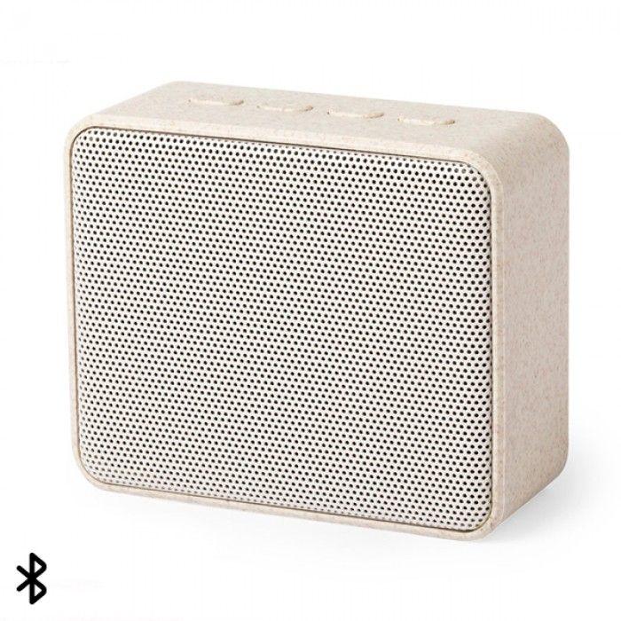 Altifalante Bluetooth 3W 146541 Cana de trigo Abs