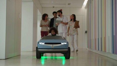 Hyundai cria um mini carro inteligente que ajuda a tratar as crianças nos hospitais